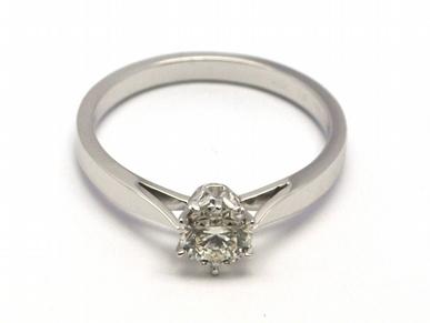 Dámský zásnubní prsten s přírodním diamantem 585/2,17 gr J-21321-12 POŠTOVNÉ ZDARMA! (J-21321-12)