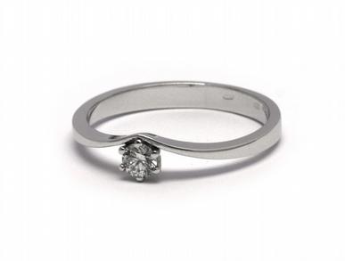 Zlatý zásnubní prsten s přírodním diamantem 585/1,83 gr J-20780-12 POŠTOVNÉ ZDARMA! (J-20780-12)