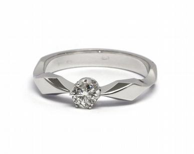 Zlatý zásnubní prsten s přírodním diamantem 585/2,65 gr J-20673-11 POŠTOVNÉ ZDARMA! (20673-11)