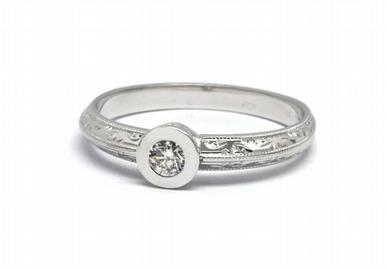 Zlatý zásnubní prsten s přírodním diamantem 585/2,71 gr J-20676-11 POŠTOVNÉ ZDARMA! (J-20676-11)
