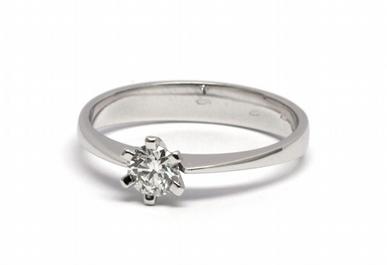 Zlatý zásnubní prsten s přírodním diamantem 585/2,20 gr J-20677-11 POŠTOVNÉ ZDARMA! (J-20677-11)