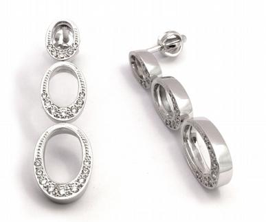 Zlaté luxusní náušnice s přírodními diamanty 585/5,03 gr J-20900-12 POŠTOVNÉ ZDARMA! (J-20900-12)