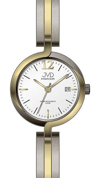 Dámské voděodolné celotitanové antialergické hodinky JVD titanium J5025.2 POŠTOVNÉ ZDARMA!