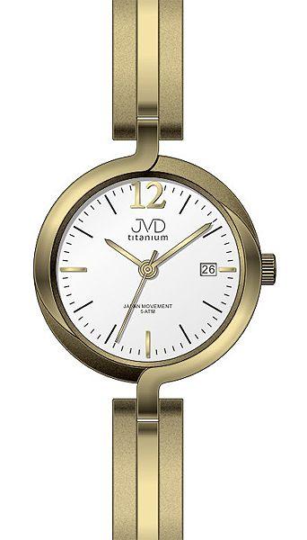 Dámské voděodolné celotitanové antialergické hodinky JVD titanium J5025.3 POŠTOVNÉ ZDARMA!