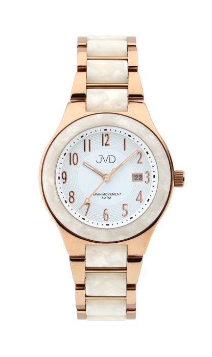 Luxusní keramické voděodolné hodinky JVD J1098.3 - UNISEX POŠTOVNÉ ZDARMA! (POŠTOVNÉ ZDARMA)