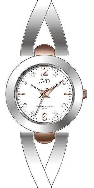 Dámské nerezové ocelové hodinky JVD J4143.2 - 5ATM POŠTOVNÉ ZDARMA! 184a955913d