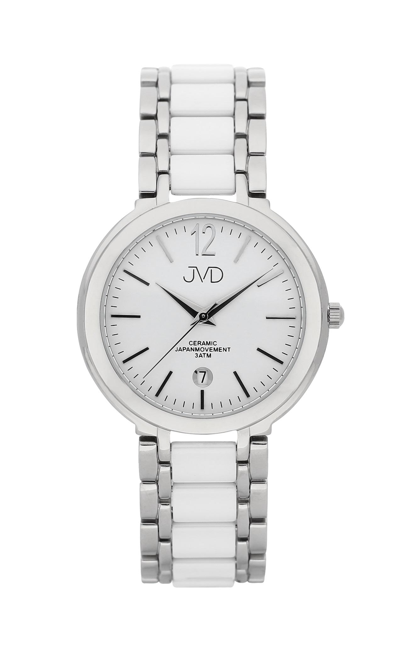 Luxusní keramické dámské náramkové hodinky JVD chronograph J1104.1 POŠTOVNÉ ZDARMA!
