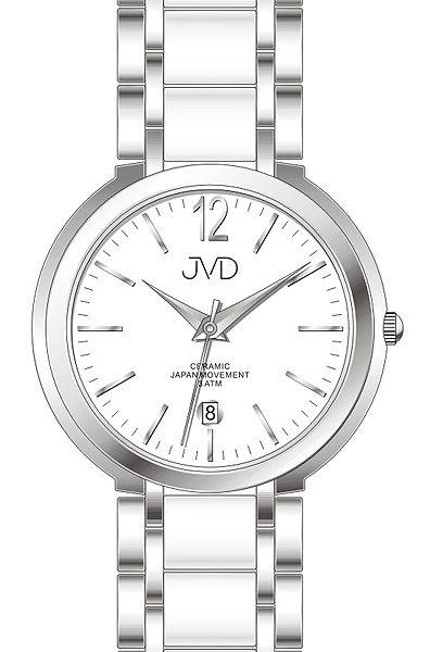 Luxusní keramické dámské náramkové hodinky JVD chronograph J1104.1 POŠTOVNÉ ZDARMA! (500)
