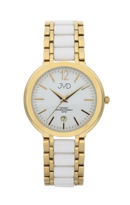 3c1135881 Luxusní keramické dámské náramkové hodinky JVD chronograph J1104.2 POŠTOVNÉ  ZDARMA!