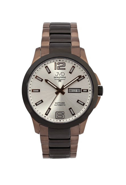 Samonatahovací automaty pánské chronografy hodinky JVD seplane JS29.5 se safírem POŠTOVNÉ ZDARMA!