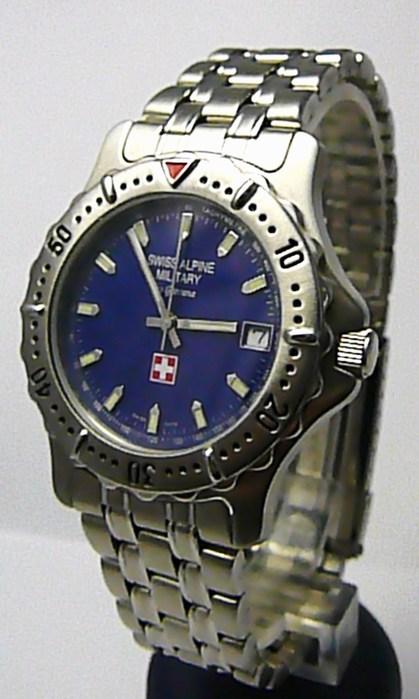 Pánské švýcarské voděodolné hodinky Grovana SWISS ALPINE MILITARY 1515.1235 7d6834cc9c