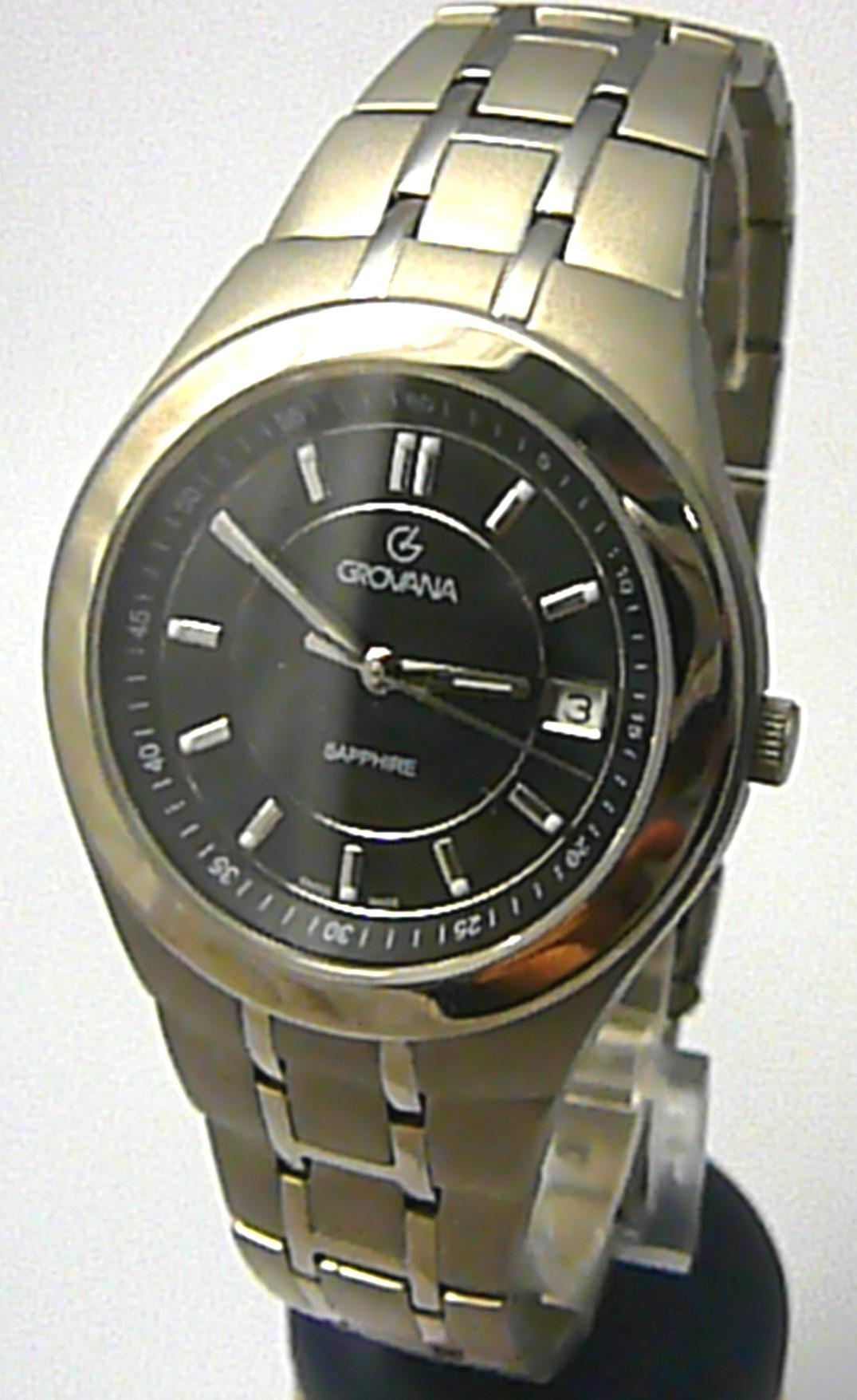 Pánské švýcarské celotitanové hodinky Grovana 1535.1197 - 5ATM safírové sklo POŠTOVNÉ ZDARMA! (1535.1197)