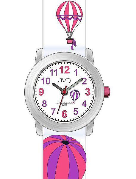 Dětské náramkové voděodolné hodinky JVD J7148.1 s balóny
