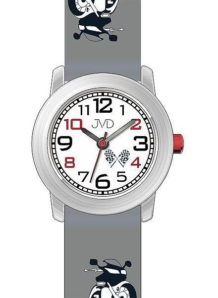Dětské chlapecké hodinky JVD J7147.2 pro malé motorkáře (motorka)