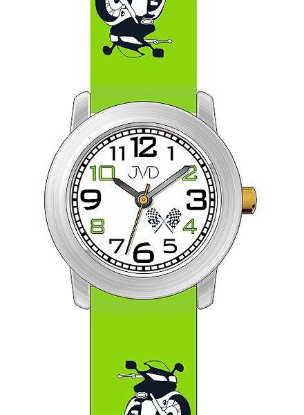 Dětské chlapecké hodinky JVD J7147.3 pro malé motorkáře (motorka)