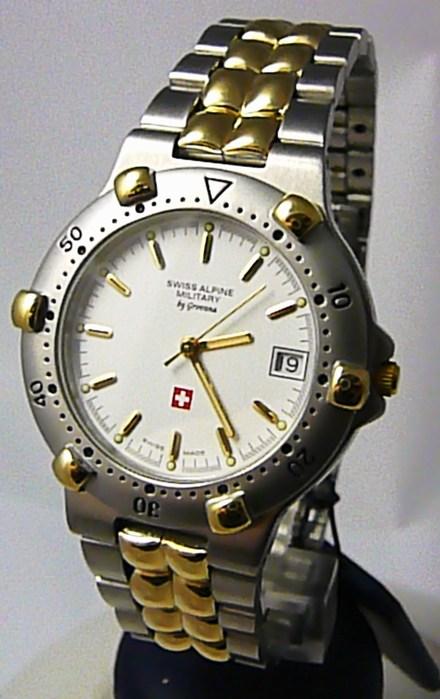 Pánské švýcarské luxusní hodinky Grovana 1505.1143 SWISS ALPINE MILITARY 5ATMPOŠTOVNÉ ZDARMA!