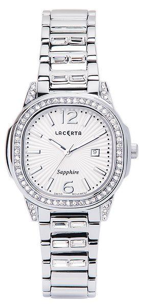 Dámské švýcarské značkové luxusní hodinky Lacerta LC201 se safírovým sklem POŠTOVNÉ ZDARMA!