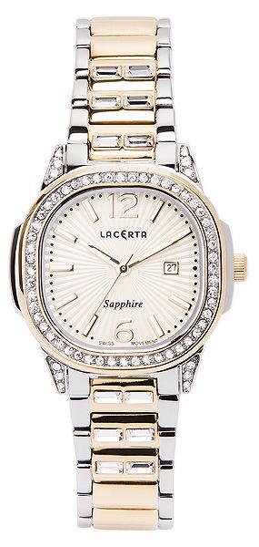 Dámské švýcarské značkové luxusní hodinky Lacerta LC202 se safírovým sklem POŠTOVNÉ ZDARMA!