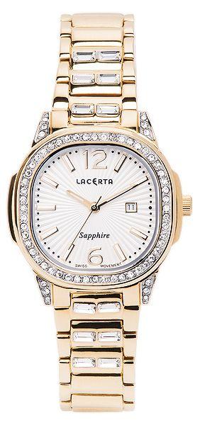 Dámské švýcarské značkové luxusní hodinky Lacerta LC203 se safírovým sklem POŠTOVNÉ ZDARMA!