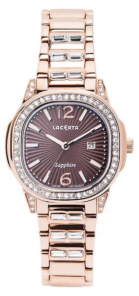 Dámské švýcarské značkové luxusní hodinky Lacerta LC204 se safírovým sklem POŠTOVNÉ ZDARMA!