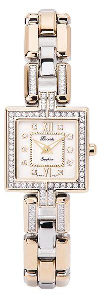 Značkový švýcarské dámské hodinky Lacerta 751 M8 591 s nepoškrabatelným sklem POŠTOVNÉ ZDARMA!