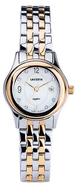 Značkové švýcarské dámské hodinky Lacerta LC402 s nepoškrabatelným sklem POŠTOVNÉ ZDARMA!