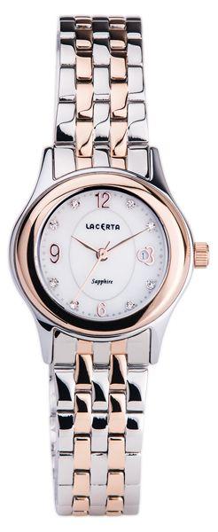 Značkové švýcarské dámské hodinky Lacerta LC403 s nepoškrabatelným sklem POŠTOVNÉ ZDARMA!