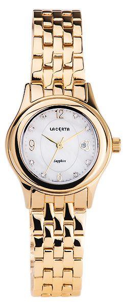 Značkové švýcarské dámské hodinky Lacerta LC404 s nepoškrabatelným sklem POŠTOVNÉ ZDARMA!