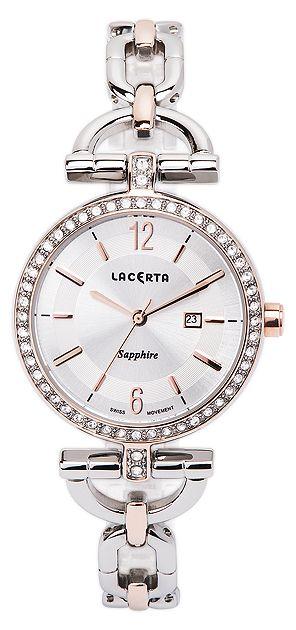 Dámské švýcarské šperkové luxusní hodinky Lacerta LC302 - safírové sklo POŠTOVNÉ ZDARMA! (55)