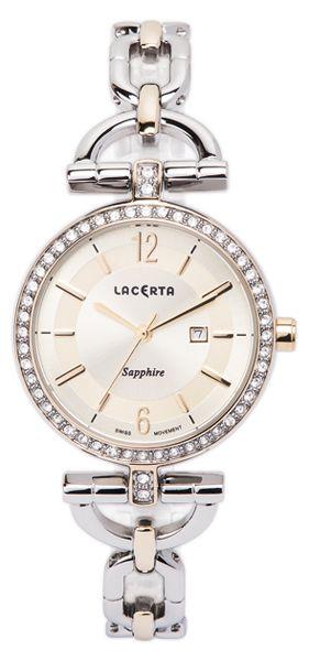 Dámské švýcarské šperkové luxusní hodinky Lacerta LC303 - safírové sklo POŠTOVNÉ ZDARMA! (55)