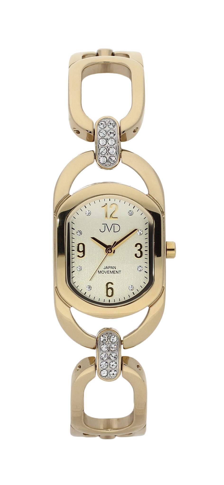 Dámské luxusní voděodolné hodinky JVD JC152.4 - 5ATM POŠTOVNÉ ZDARMA! (POŠTOVNÉ ZDARMA!!)