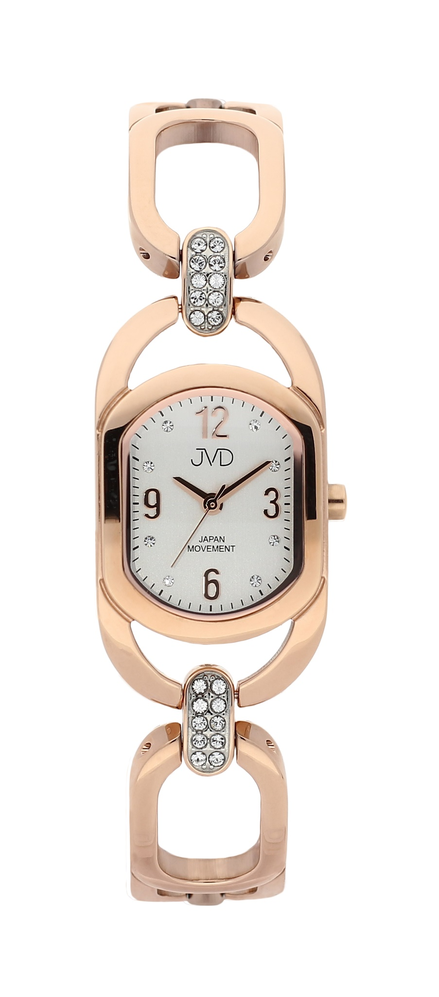 Dámské luxusní voděodolné hodinky JVD JC152.5 - 5ATM růžové zlato POŠTOVNÉ ZDARMA! (POŠTOVNÉ ZDARMA!!)