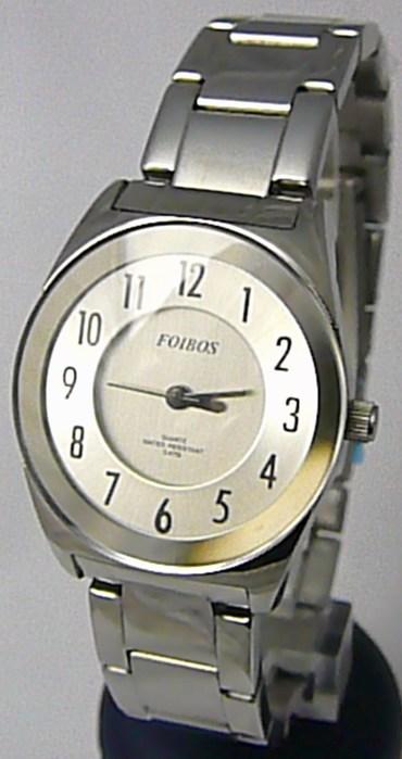 Dámské ocelové voděodolné kovové hodinky Foibos 2312 - 5ATM