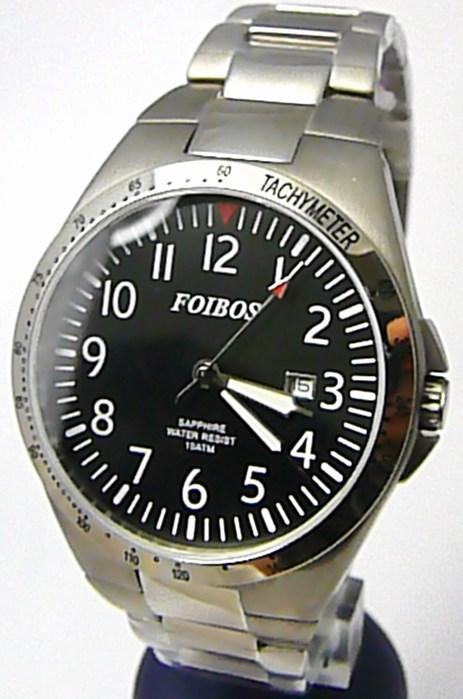 Luxusní pánské titanové antialergické čitelné hodinky Foibos 2358 - 10ATM POŠTOVNÉ ZDARMA!