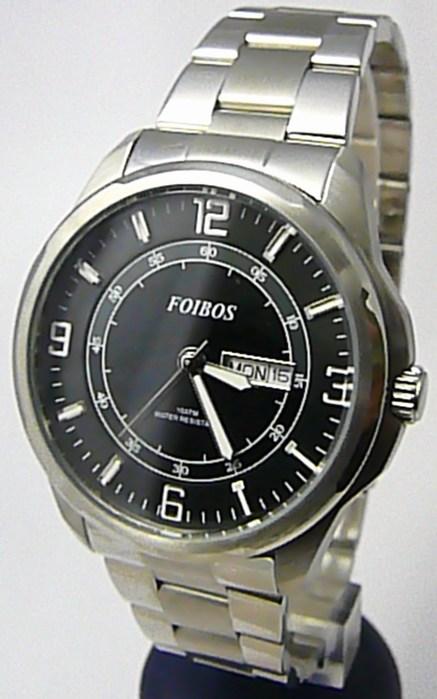 Pánské vodotěsné ocelové kovové hodinky Foibos 6733.1 - 10ATM