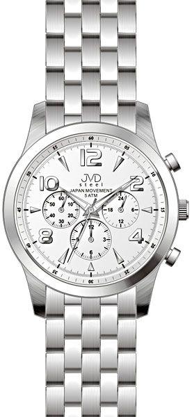 Luxusní pánské chronografy - hodinky JVD steel J1051.1 s japonským strojem  SEIKO POŠTOVNÉ ZDARMA! d9df8fa0cd9