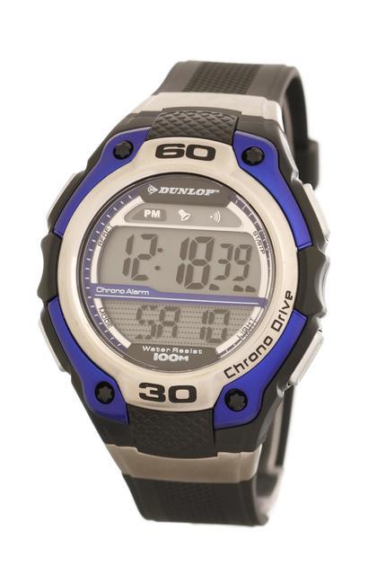 Vodotěsné sportovné digitální hodinky DUNLOP DUN-141-G03 - 10ATM