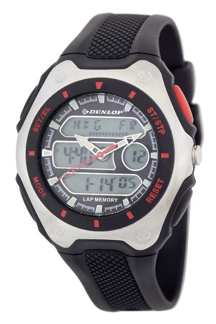 Vodotěsné sportovné digitální hodinky DUNLOP DUN-180-G01 - 10ATM