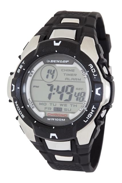 Vodotěsné sportovné digitální hodinky DUNLOP DUN-202-G01 - 10ATM