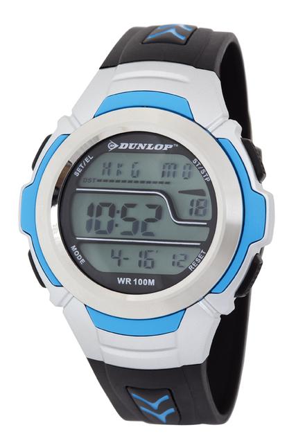 Vodotěsné sportovné digitální hodinky DUNLOP DUN-203-G03 - 10ATM