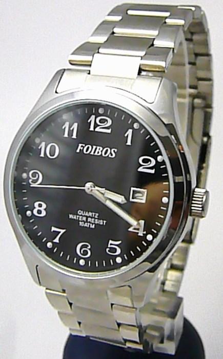 Pánské vodotěsné ocelové kovové čitelné hodinky Foibos 2229.2 - 10ATM afb9775d60