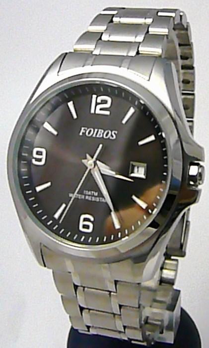 Pánské vodotěsné ocelové kovové hodinky Foibos 6276.2 - 10ATM