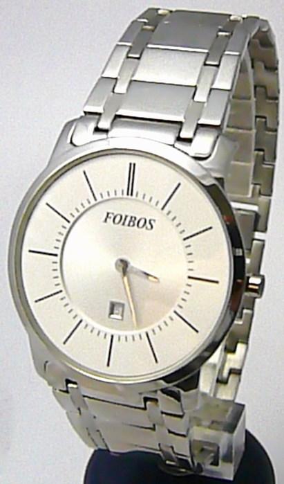 Kovové luxusní tenké módní hodinky Foibos 8335 - UNISEX