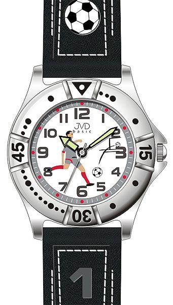 Chlapecké sportovní fotbalové hodinky JVD J7072.2 pro fotbalistky 5ATM