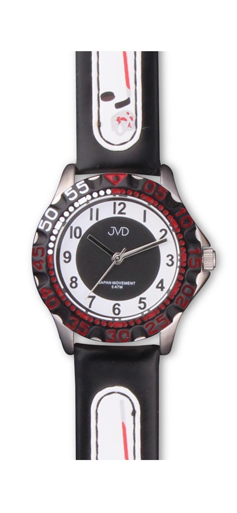 Hokejové chlapecké sportovní hodinky JVD J7078.2 pro hokejisty - 5ATM (pro malé hokejisty)