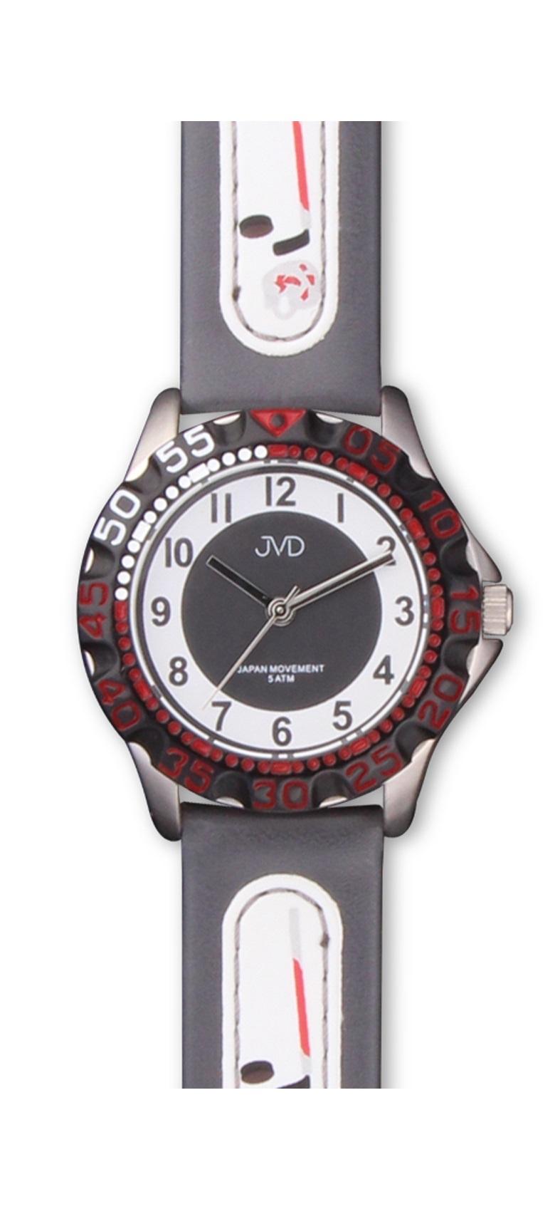 Hokejové chlapecké sportovní hodinky JVD J7078.3 pro hokejisty - 5ATM (pro malé hokejisty)