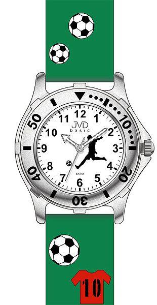 Zelené dětské chlapecké náramkové hodinky JVD basic J7100.7