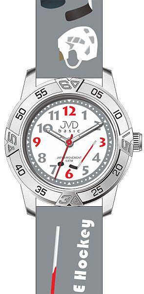 Dětské chlapecké hokejové náramkové hodinky JVD basic J7024.5 (HOKEJ)