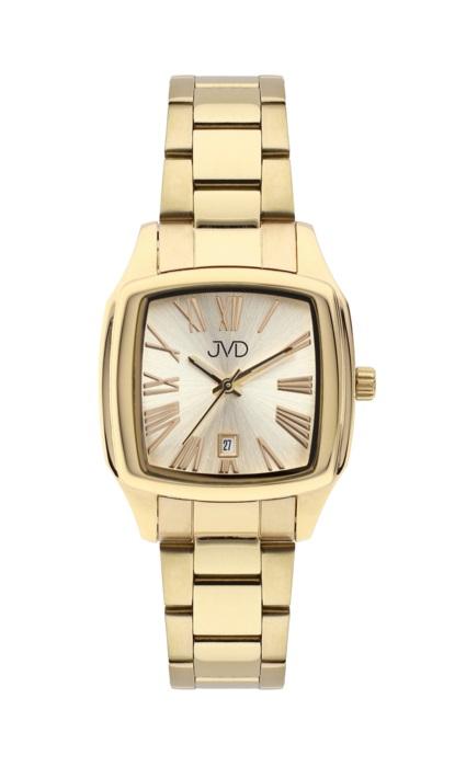 Hranaté ocelové unisex hodinky JVD W78.2 pro pány i dámy s datumovkou POŠTOVNÉ ZDARMA! (POŠTOVNÉ ZDARMA!!!)