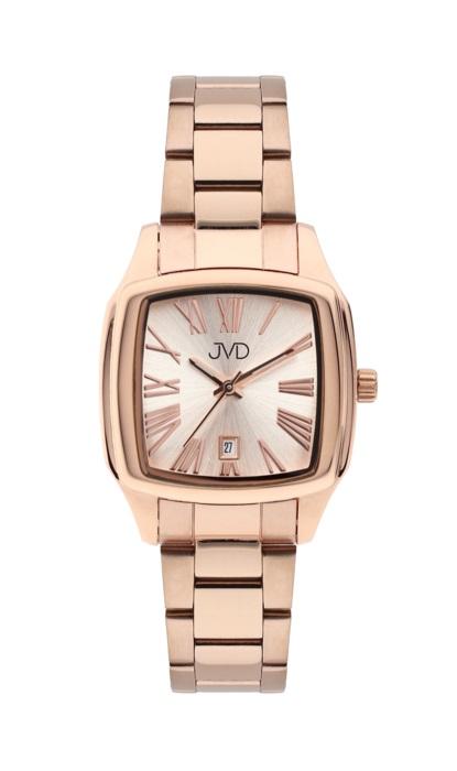 Hranaté ocelové unisex hodinky JVD W78.3 pro pány i dámy s datumovkou POŠTOVNÉ ZDARMA! (POŠTOVNÉ ZDARMA!!!)